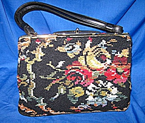 Vintage  CARA Needlepoint Bag (Image1)