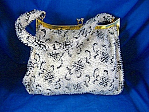 Vintage Bag, Fabulous Black Cream Silvery (Image1)