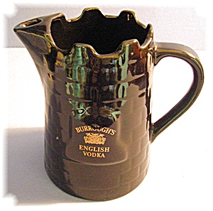 Black Burroughs England Vodka Pitcher (Image1)