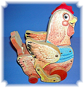 Fisher Price  Katy Klucker Red Hen Toy (Image1)