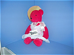 1980 North American SCARLET O'BEARA Bear (Image1)
