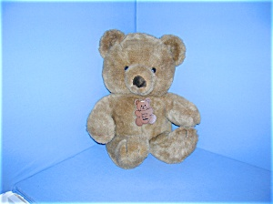 16 Inch Soft Cuddly Dan Dee Brown  Bear (Image1)