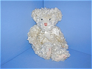 12 Inch Blonde Curly RUSS BERRIE Teddy Bear (Image1)