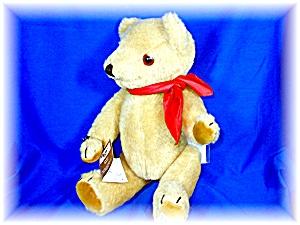 Peter Bull Golden Mohair Teddy Bear 1979 w/ tags (Image1)
