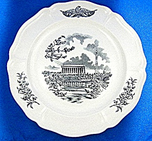 WEDGWOOD FEDERAL CITY PLATE, Panorama (Image1)