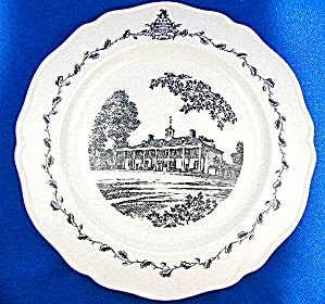 Wedgwood - Mount Vernon Plate,   (Image1)