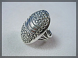 Native American Orvilletsinni Sterling Silver Ring