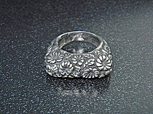 Dian Malouf Dallas Texas Sterling Silver Ring
