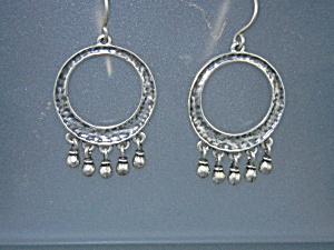 Silpada Sterling Silver Shepherd Hood Dangle Earrings (Image1)