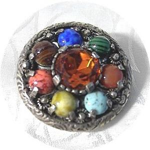 Miracle Multi Jewelled Miracle Brooch Pendant