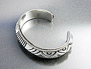 Native American ARTIE YELLOWHORSE Sterling Silver (Image1)