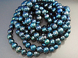 Freshwater Grey Pearls 76 Inches (Image1)