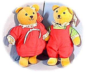 Dakin 1984 Elizabeth And Edward Bears