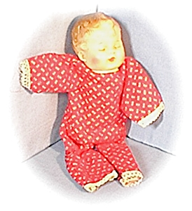 Vintage Key Wind Lullabye Roll Over Doll (Image1)