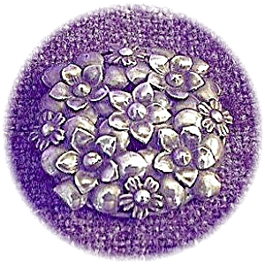 Sterling Craft Signed Sterling Silver Brooch Pin (Image1)