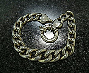 Bracelet Sterling Silver Graduated Link Italy