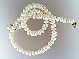 Freshwater Potato Pearls 19 Inch Necklace
