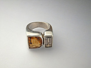 Ring Starborn Sterling Silver Citrine Quartz (Image1)