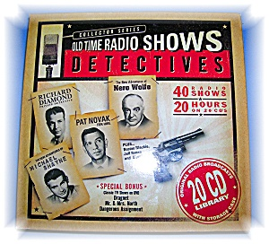 20 CD Library Old Time Detective Radio Shows (Image1)