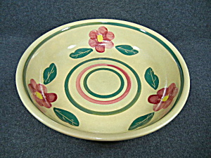 Watt Pansy (Rio Rose)  Bulls Eye Spaghetti Bowl - Large (Image1)