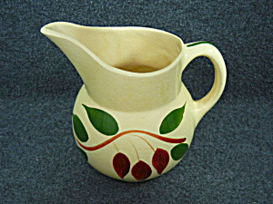 Watt Pottery American Red Bud No. 15 Pitcher  (Image1)