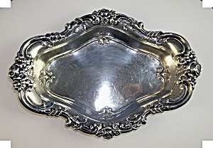 WALLACE STERLING MEADOW ROSE CANDY DISH.1907.. (Image1)