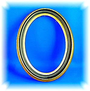 Picture Frame Oval Wood Made In Finland