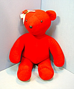 North American Bear BRIGHT RED 20 Inch  1979 (Image1)