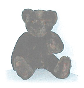 Dark Chocolate Brown VERMONT Teddy Bear (Image1)