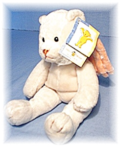 Small Mary Meyer Angel Bean Filled Bear (Image1)