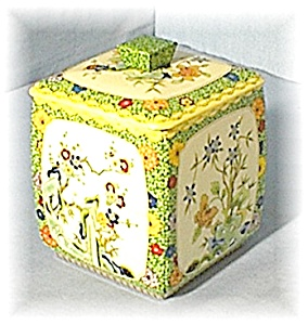 Collectible English Tea /Cookie Tin (Image1)