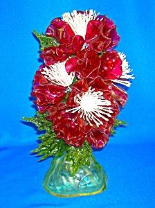 Lucite 60s Flower Ornament/Decoration (Image1)