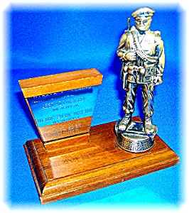 SPECIAL FORCES PRESENTATION STATUE CIRCA 1960'S . . (Image1)