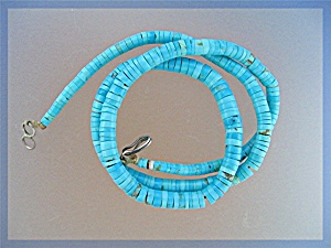Native American Sleeping Beauty Turquoise Necklace