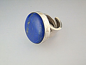 David Troutman & Gundi Sterling Silver Lapis  Ring  (Image1)