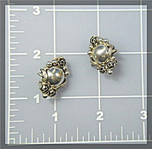 Sterling Silver Clip Earrings PERUZZI FLORENCE (Image1)