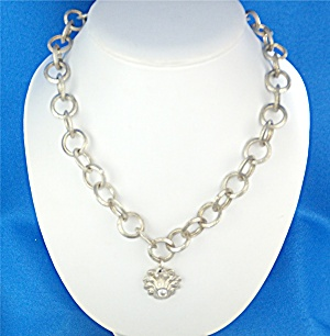Necklace Sterling Silver Links USA (Image1)