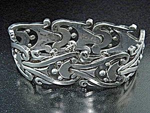 Los Ballesteros Sterling Silver Mexico Bracelet (Image1)
