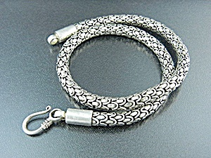 Sterling Silver Necklace Indonesia 90 Grams
