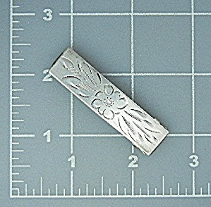 Hair Barrette Sterling Silver B (Image1)