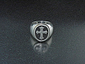 James Avery Texas Sterling Silver Cross Ring