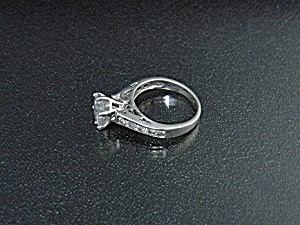 Sterling Silver 2Ct CZ Ring  (Image1)