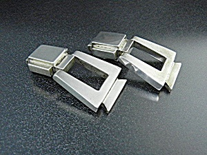 Zina Sterling Silver Hinged Clip Earrings (Image1)