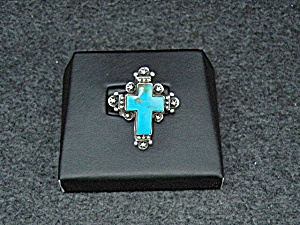Native American Sterling Silver Turquoise Gary G