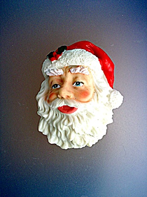 Magnet Santa Claus face ornament (Image1)