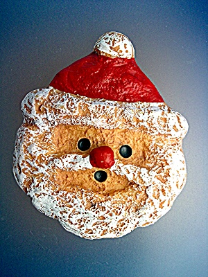Santa Clause face decoration (Image1)