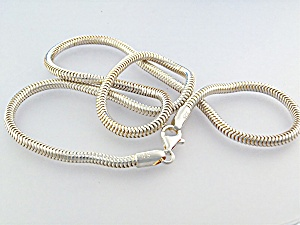 Necklace Sterling Silver Snake Chain  (Image1)