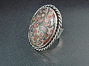 Sterling Silver Silver Creations By Gundy Jasper Ring