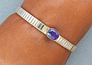 Native American RAY BENNETT Sterling Silver Amethyst  (Image1)