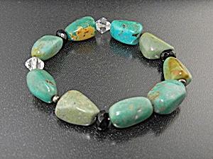 Native American Turquoise Crystal Expanda Bracelets 3 (Image1)